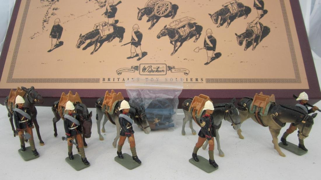 Britains Set # 8857 Royal Mountain Artillery.
