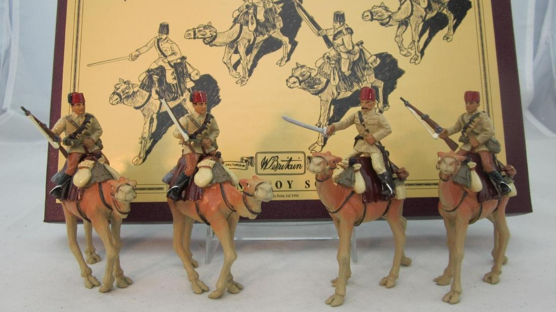 Britains Set # 8872 Egyptian Camel Corp.