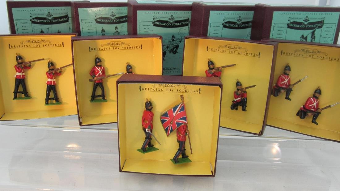 Britains Sets 8814-8820 Sherwood Foresters.