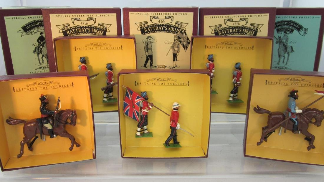 Britains Sets 8836-8840 Indian Army.