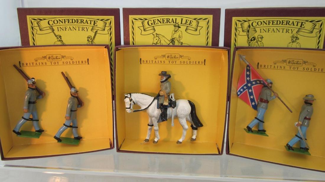 Britains Sets 8877, 8879, 8881 Confederates.