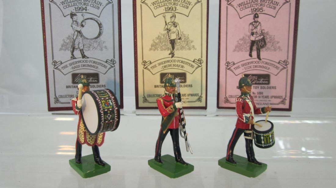 Britains Collector Club Sherwood Foresters.