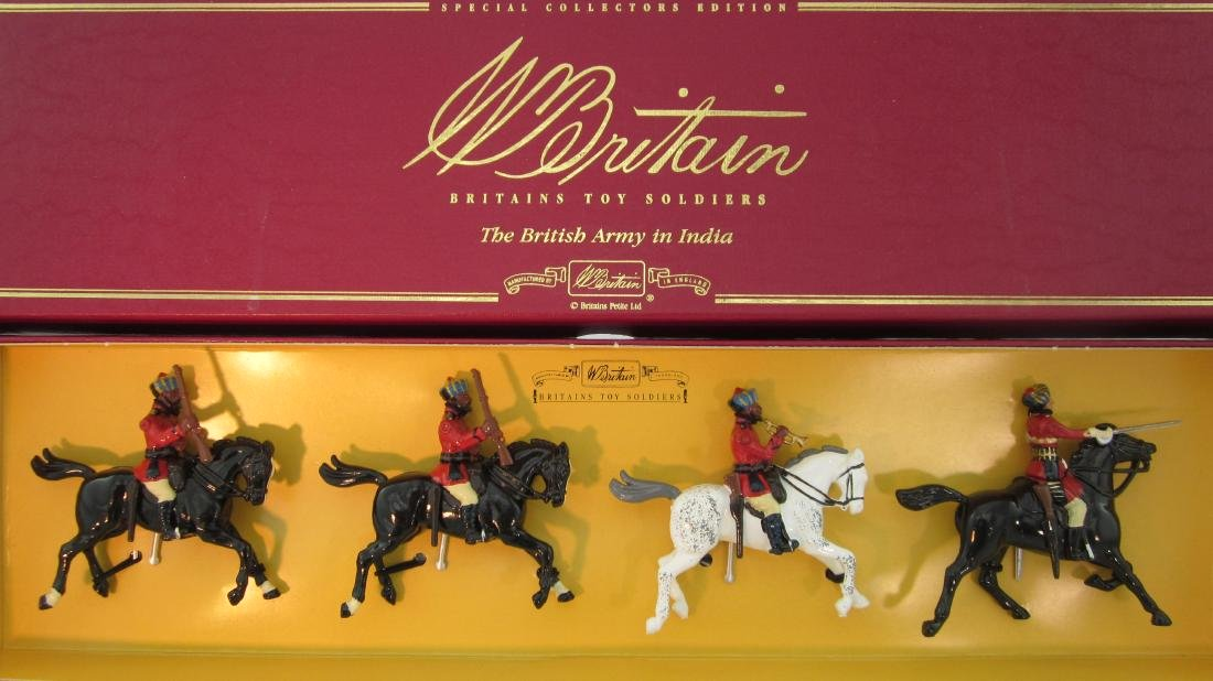 Britains Set #008952 5th Bombay Indian Cavalry.