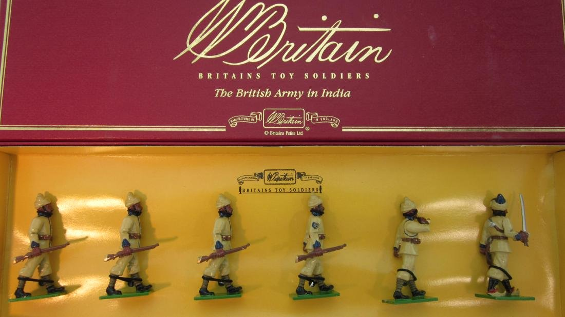 Britains Set #008954 57th Wildes Rifles.