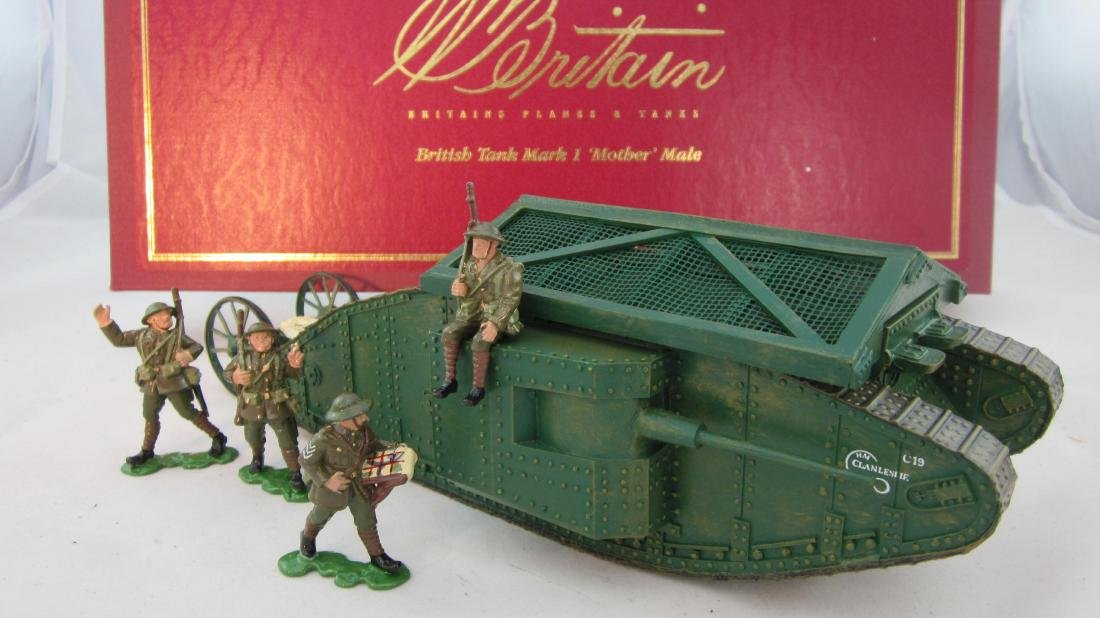 Britains Set #008946 Mark I Mother Male Tank.