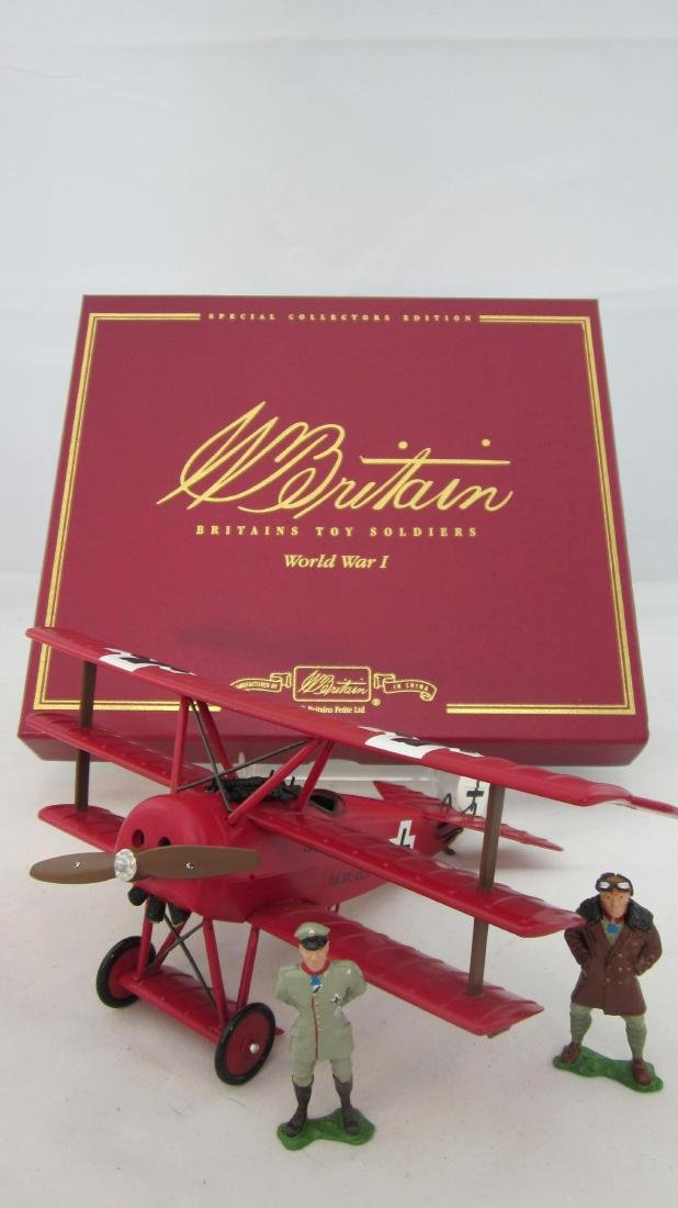 Britains Set #00158 Fokker DR1 Triplane.
