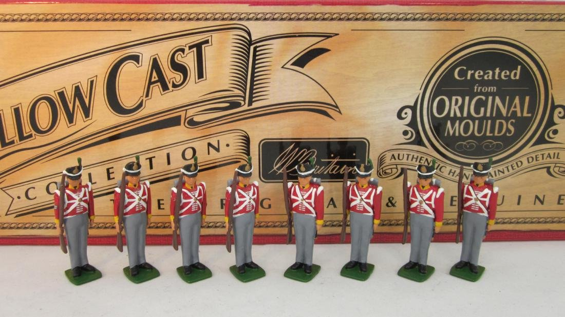 Britains Set #40194 British 44th Foot Infantry.