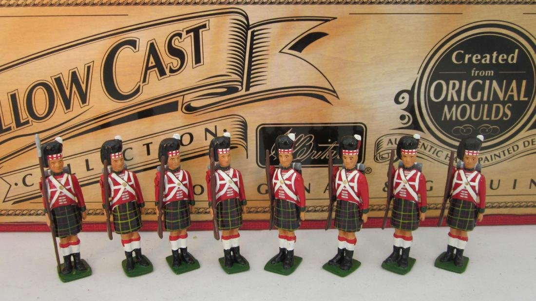 Britains Set #40195 Highland 79th Foot Infantry.