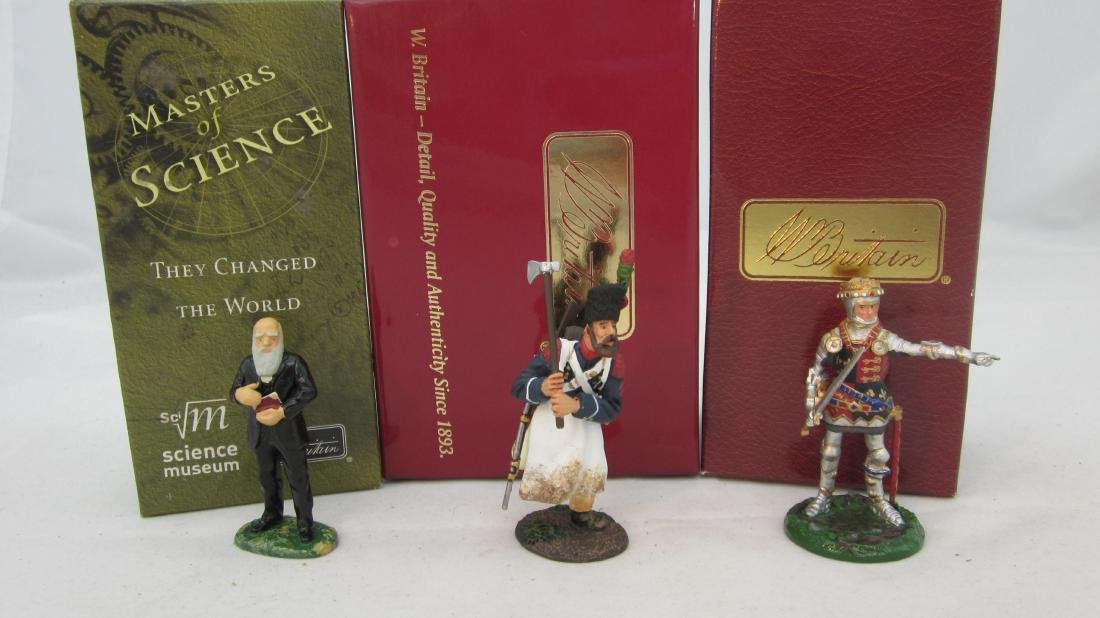 Britains Collectors Club Personality Figures.