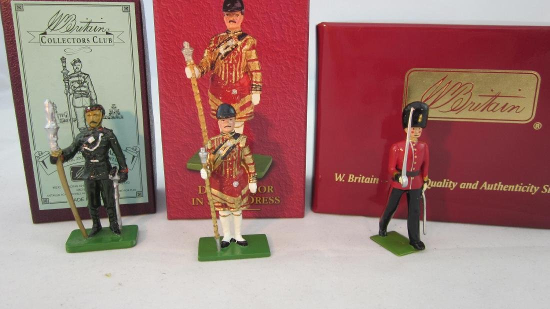 Britains Assorted Collectors Club Figures.