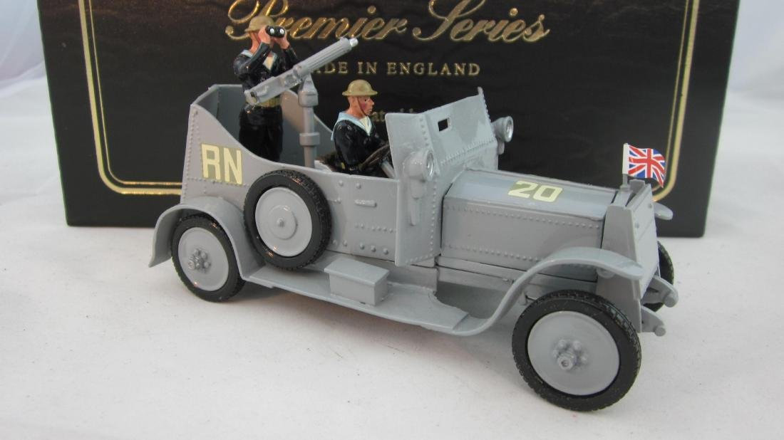 Britains Premier #8925 Naval Armored Car.