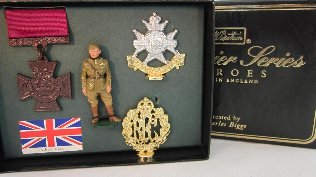 Britains Premier #8928 Albert Hall, V.C. Hero.