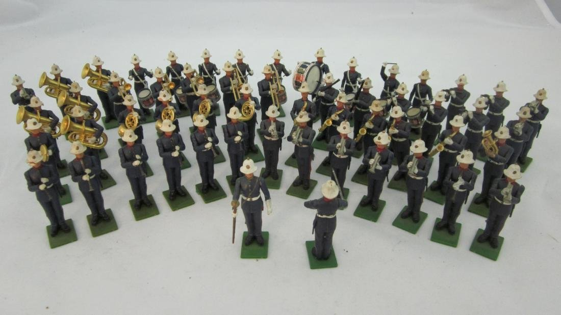 Britains #7283 Eyes Right Royal Marine Band.