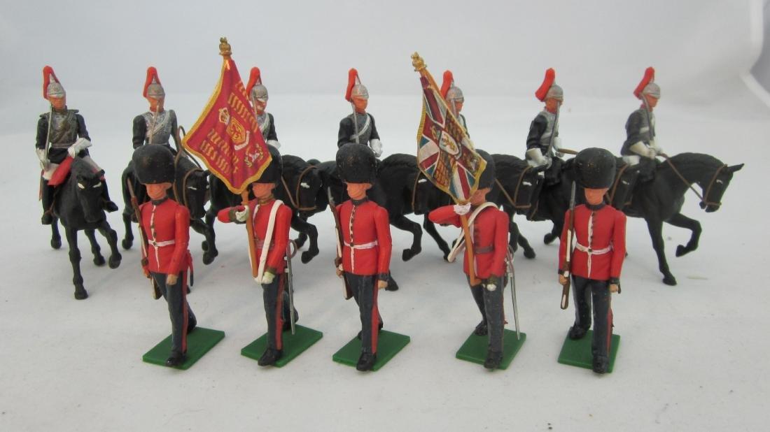 Britains #7226 Scots Guard Colors & Horseguards.