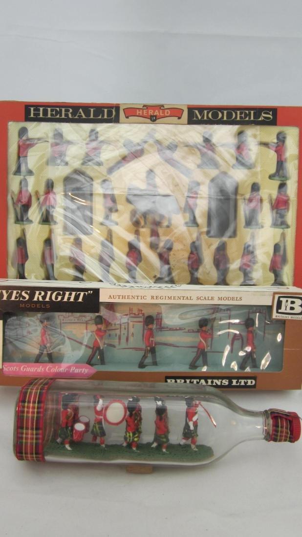 Britains/Herald Guards & Scots Guards Colours.
