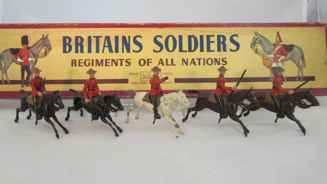 Britains Set #1349 Canadian Mounted Police.