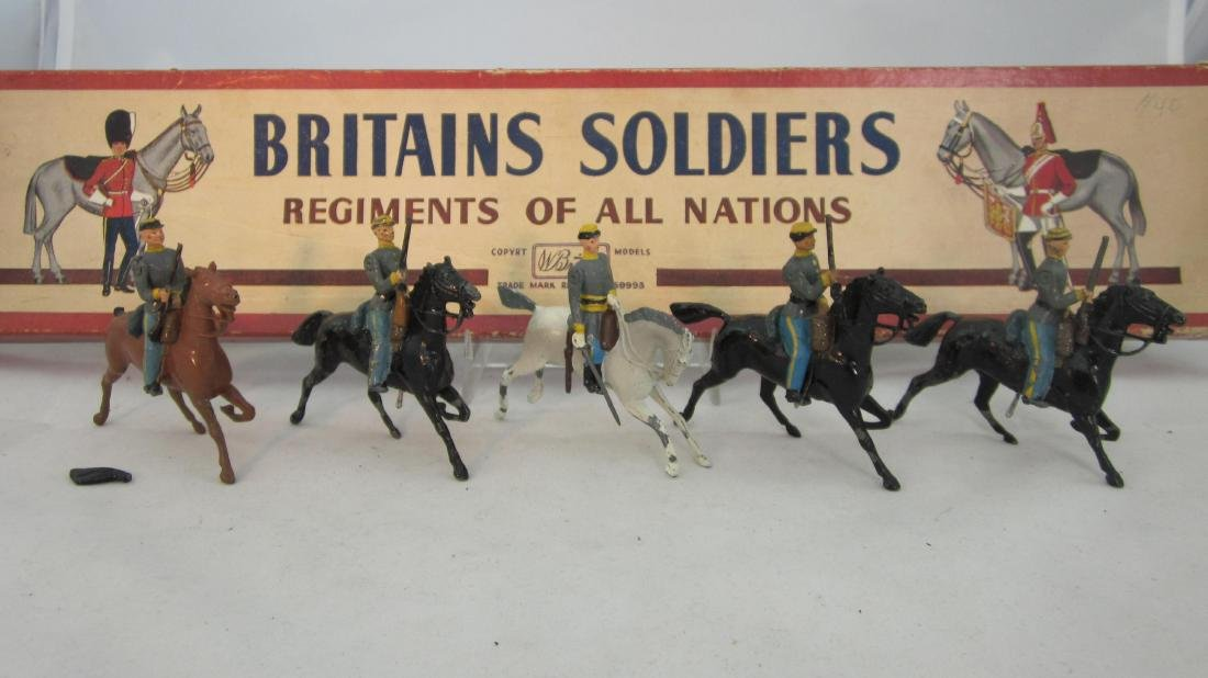 Britains #2055 Civil War Confederate Cavalry.
