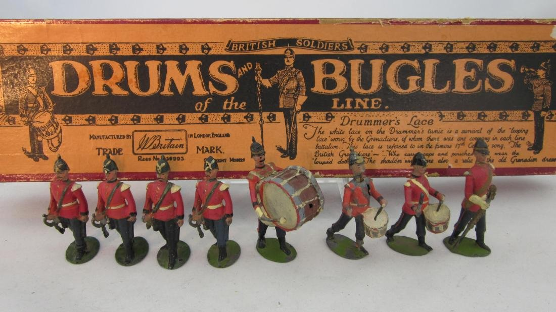 Britains Set #30 Drums & Bugles of the Line.