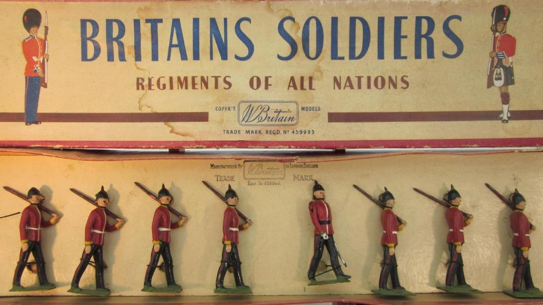 Britains Set #76 Middlesex Regiment.