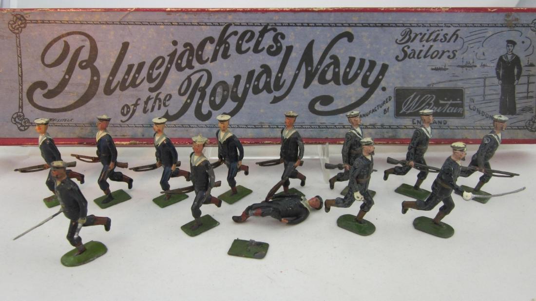 Britains Set #78 Royal Navy Bluejackets.