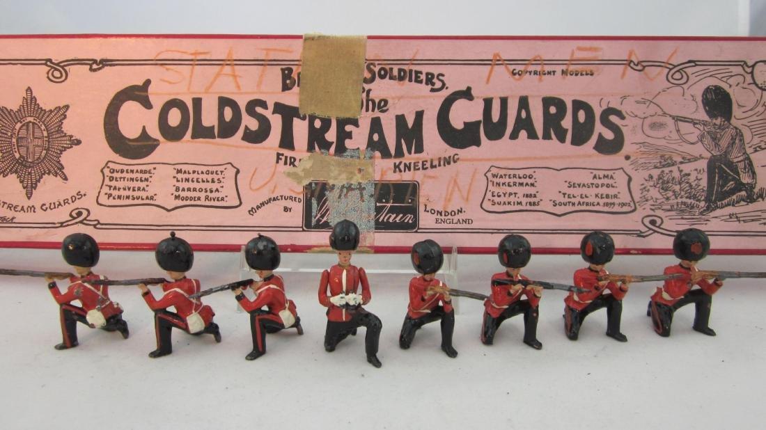 Britains Set #120 Coldstream Guards Firing.