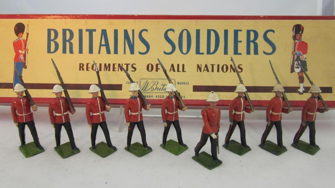 Britains Set #1633 Princess Pats Light Infantry.