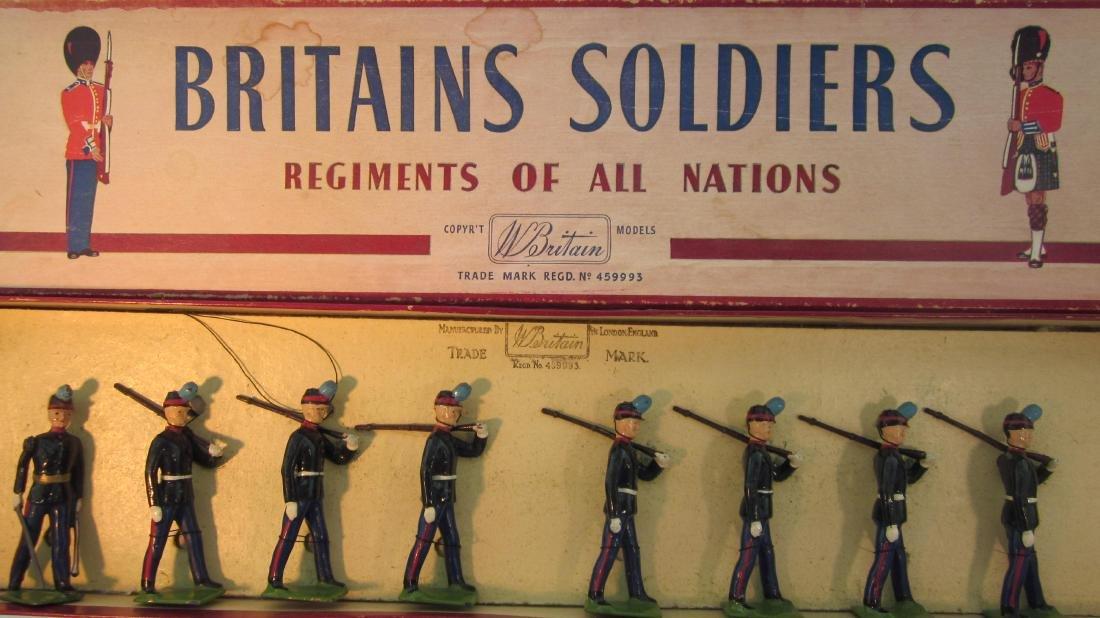 Britains #2051 Uruguayan Military School Cadets.