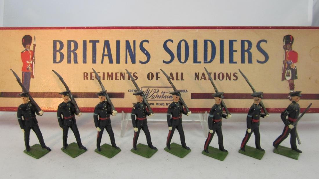 Britains Set #2089 Gloustershire Regiment.