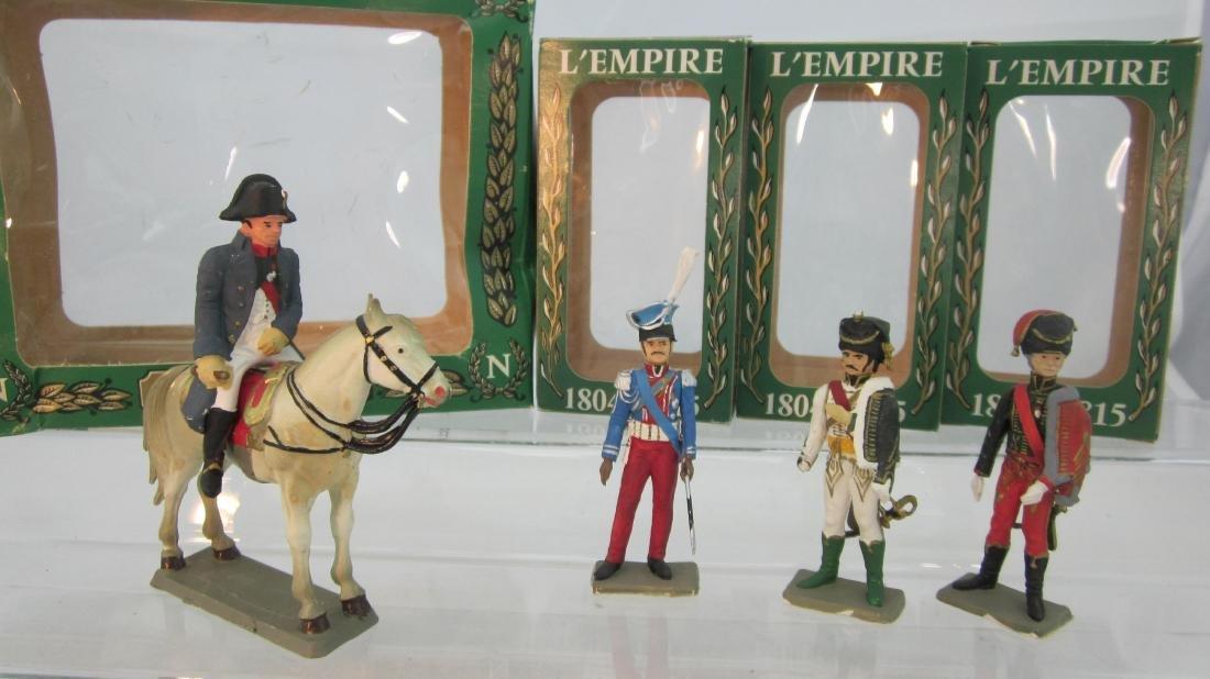 Starlux Napoleonic Staff & Mounted Napoleon.