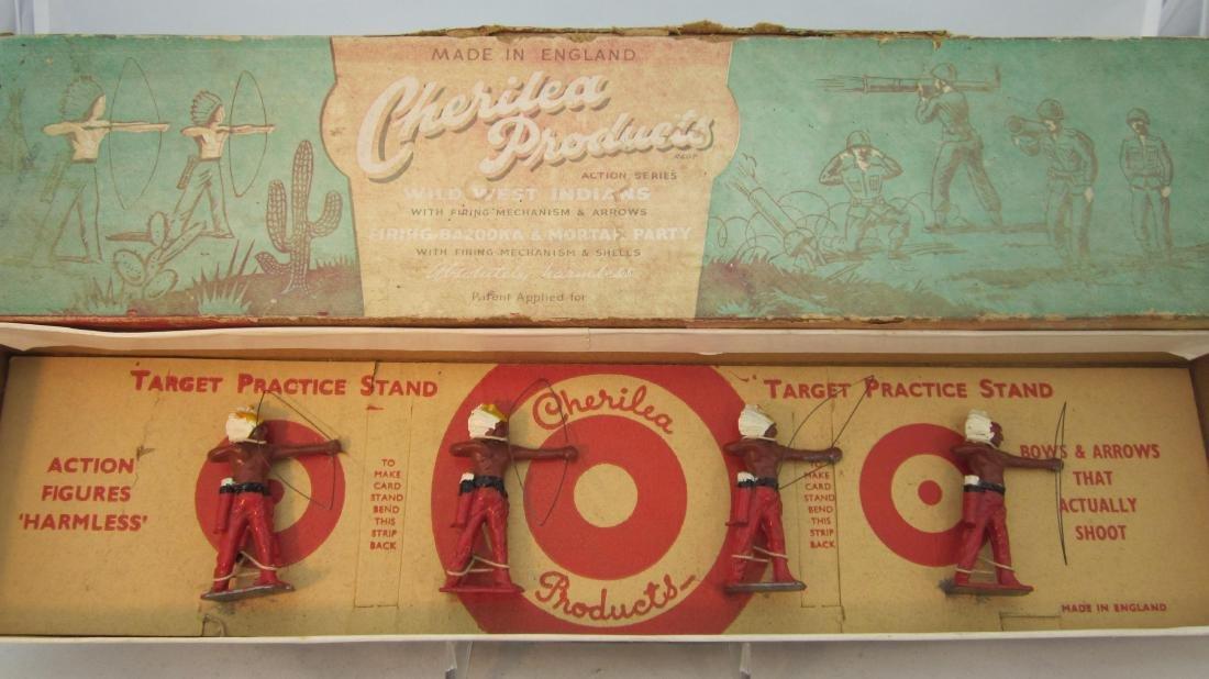 Cherilea Set #W/25 Indians to Fire Arrows.