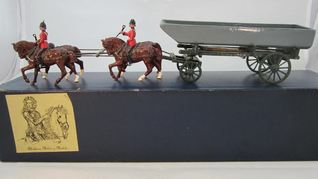 Blenheim #E1 Royal Engineers Pontoon Wagon.