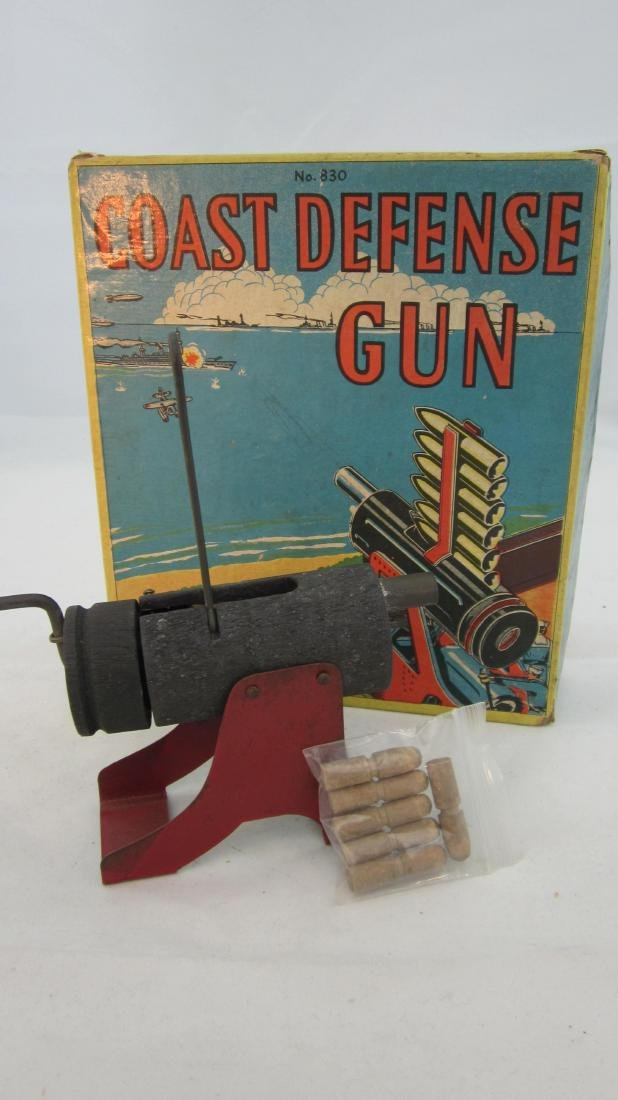 Baldwin #830 Coastal Defense Gun.