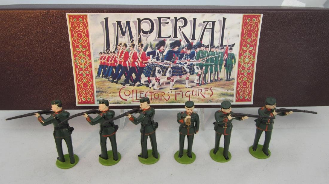 Imperial Set #6 Auckland Rifle Volunteers 1871.