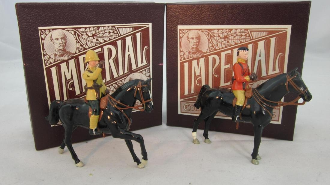 Imperial Set 18 & 26 Mounted Highland Officers.