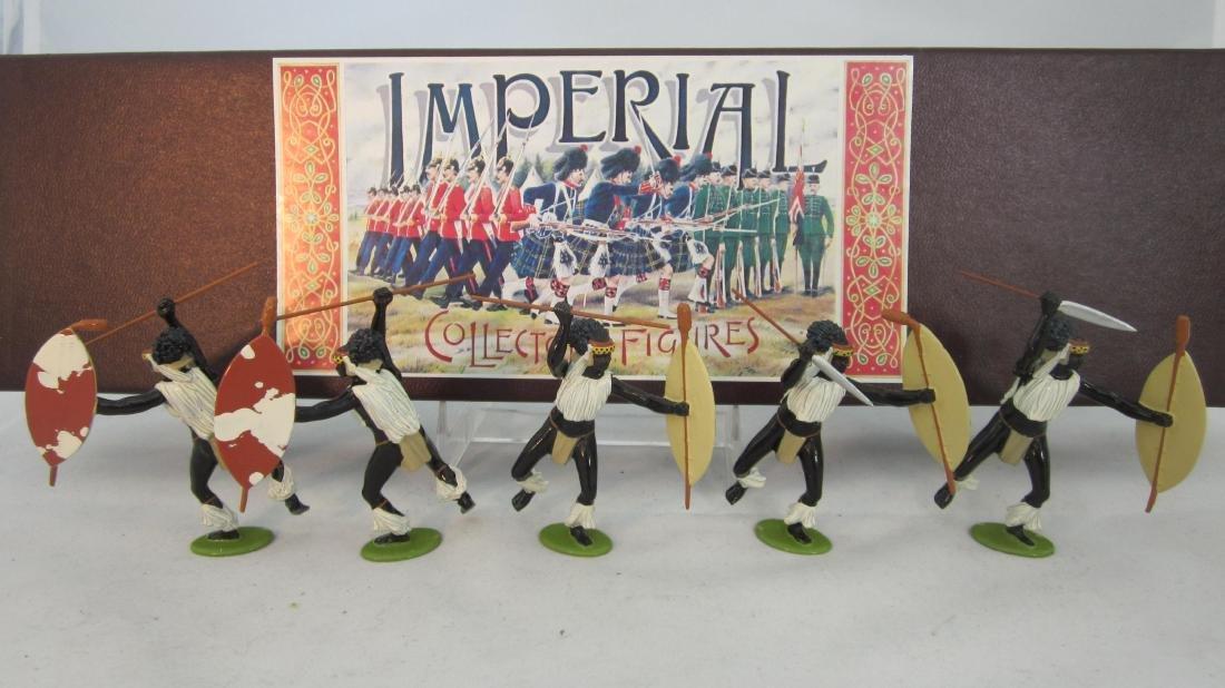 Imperial Set #29 iNdlondlo Zulus 1879.