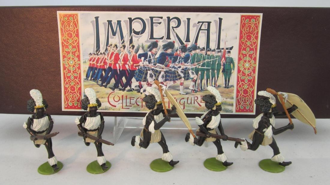 Imperial Set #37 iNdluyengwe Zulus 1879.