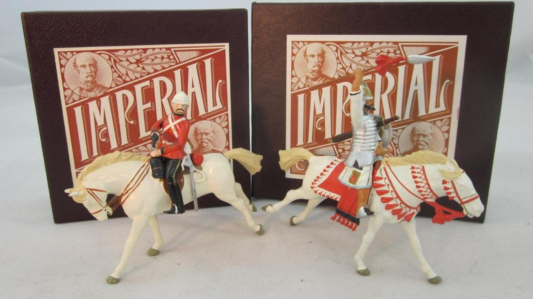 Imperial Set #36 & 49b 1st Dragoon Guard & Emir.