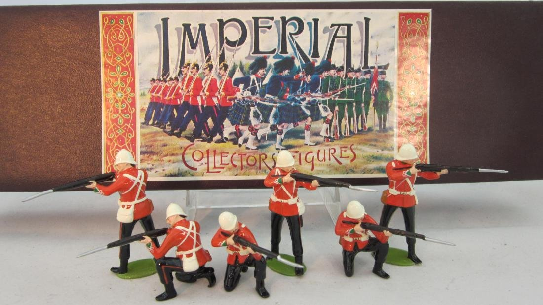 Imperial Set #43 24th Foot Kneel & Stand 1879.