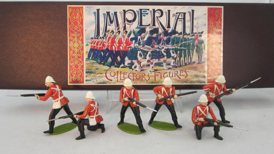 Imperial Set #44 24th Foot Standing & Reloading.