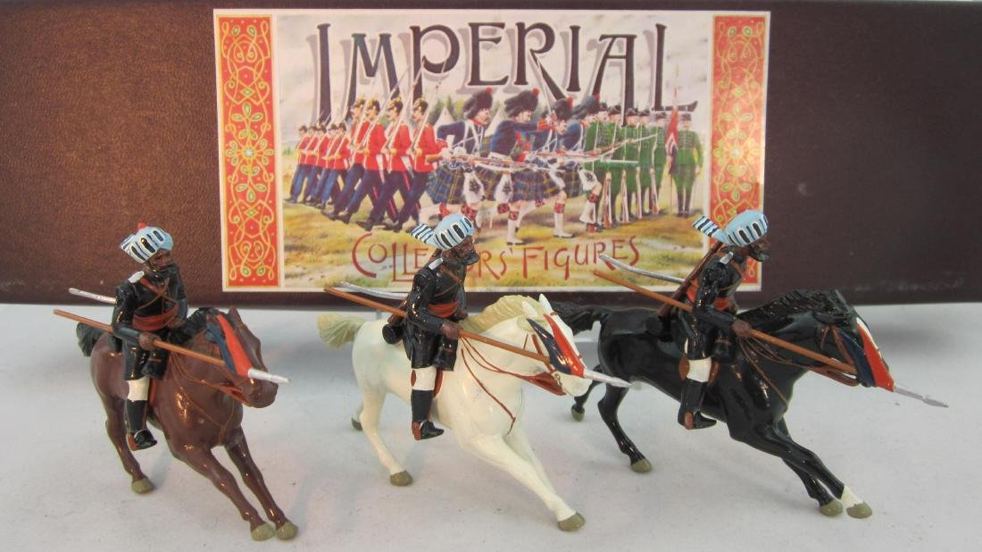 Imperial Set #50 13th Bengal Lancers 1882.