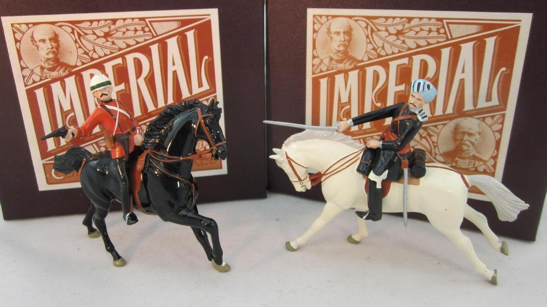 Imperial #51 & 61 Bengal & Black Watch Officers.