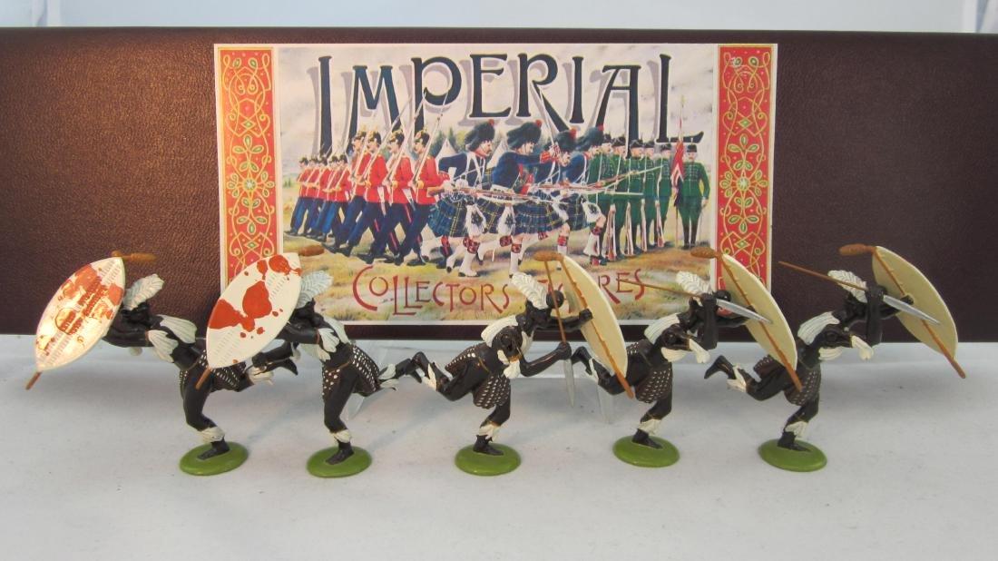 Imperial Set #60 iNgobamakhosi Zulus 1879.
