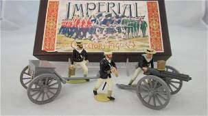 Imperial Set 59 Navy Gatling Gun  Crew 1882