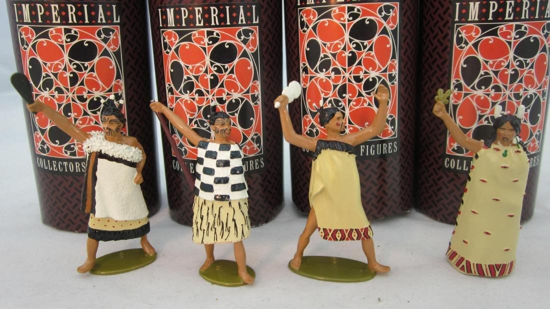 Imperial Set #TM#1-4 Te Maori Series.
