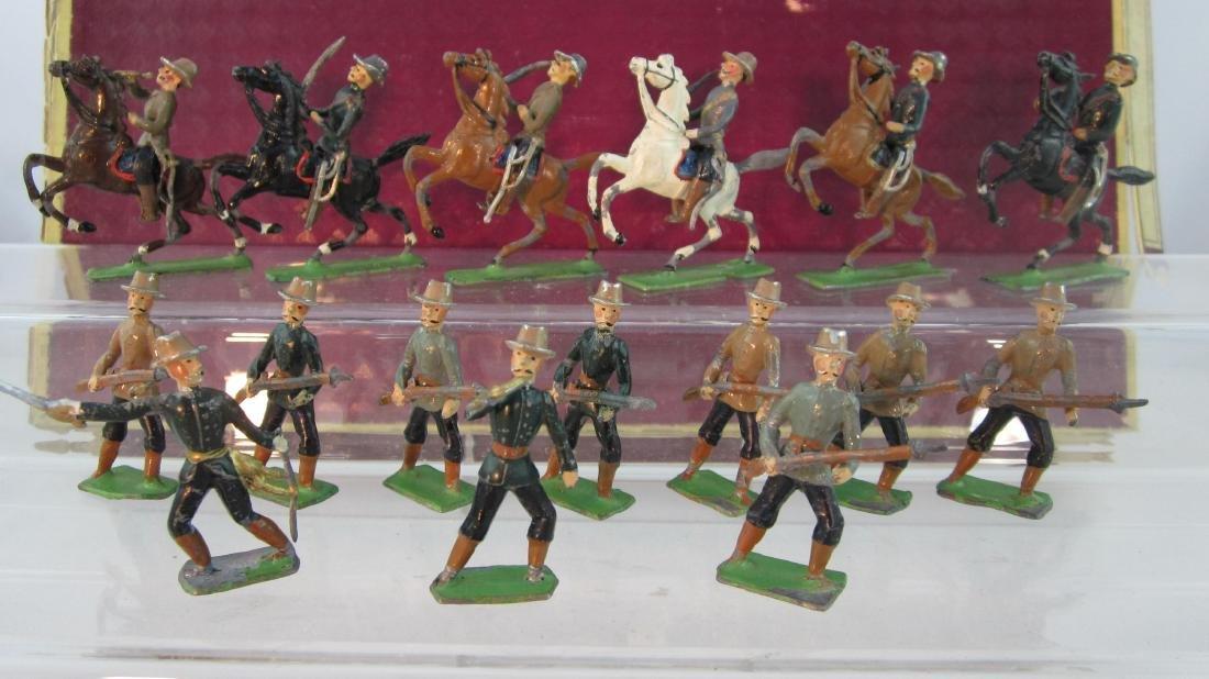 Heyde Boer War Boers Mounted & Charging.