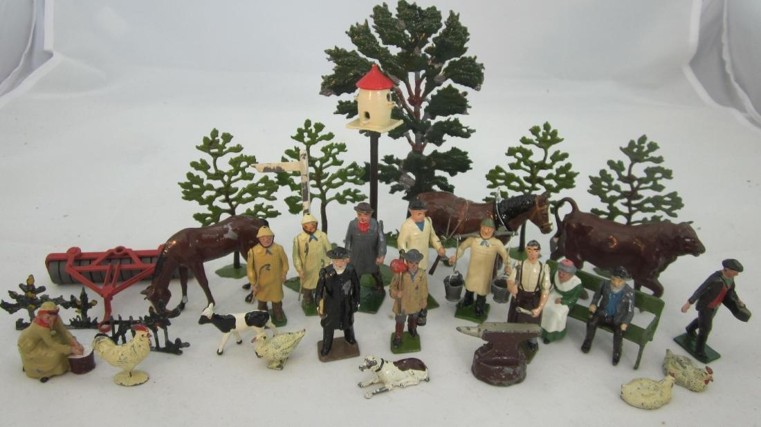 Britains Assorted Farm Pieces.