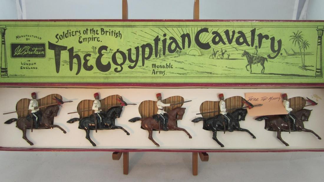 Britains Set #115 Egyptian Cavalry.