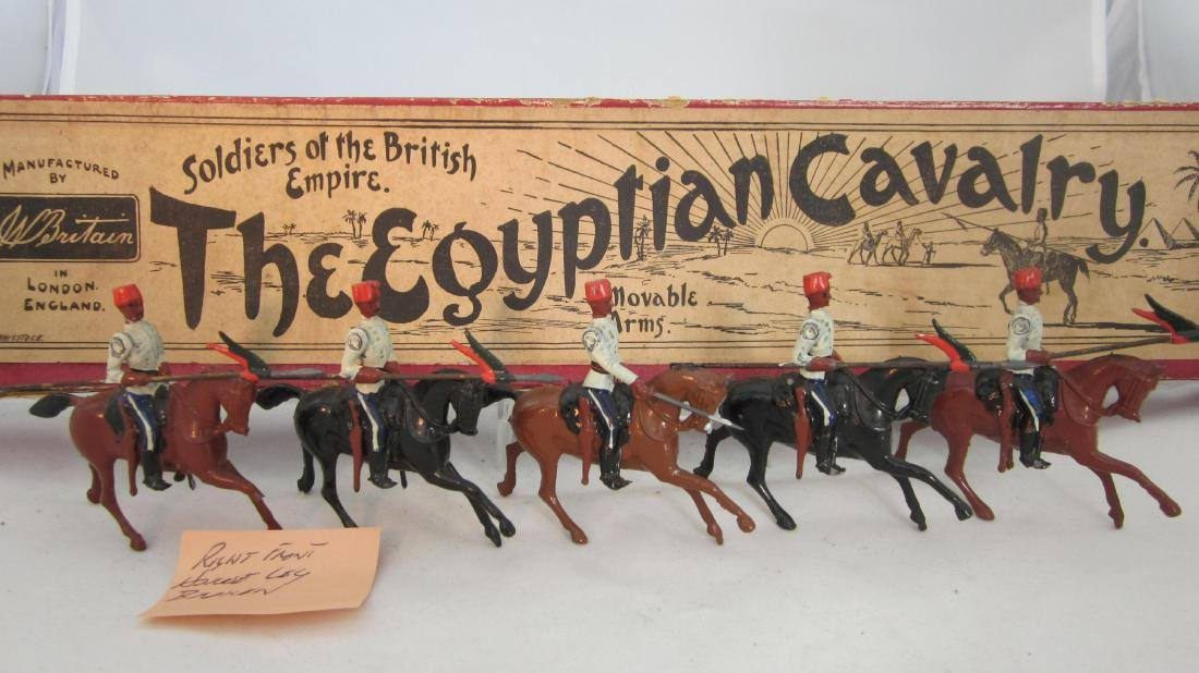 Britains Set #115 Egyptian Cavalry.