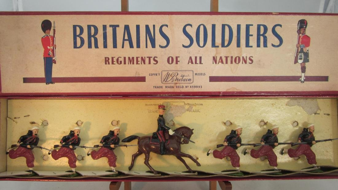 Britains Set #142 French Zouaves.