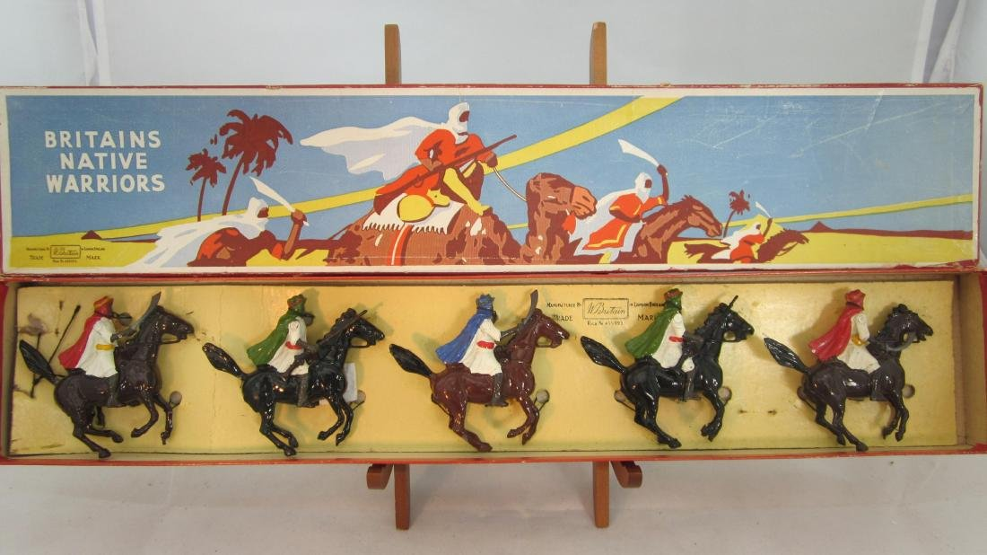 Britains Set #164 Mounted Arabs.
